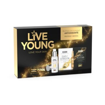 ISDIN LOVE YOUNG PACK AGE REPAIR + FLAVO C AMPOLLAS 5+5