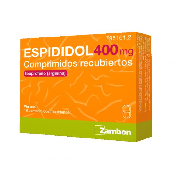 ESPIDIDOL 400 mg. 18 COMP. SABOR MENTA